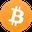 logo kryptowaluty Bitcoin