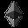 logo kryptowaluty Ethereum