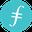 logo kryptowaluty Filecoin