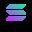 logo kryptowaluty Solana
