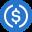 logo kryptowaluty USD Coin